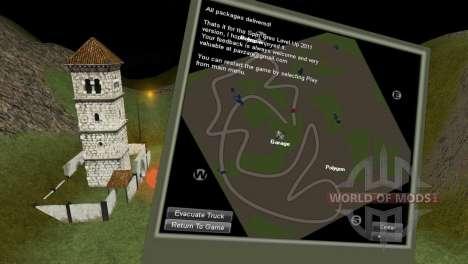 Mapa de StonesMine para Spin Tires
