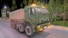 KamAZ 8x8 para Spin Tires