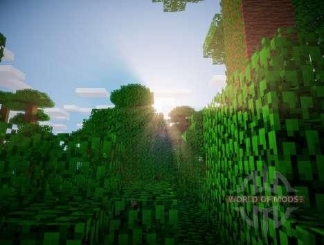 Sombreado Chocapic V3 Ultra para Minecraft