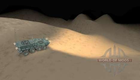 Mapa-desierto - para Spin Tires