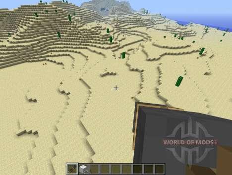 Cañón de ChickenLauncher-pollo para Minecraft