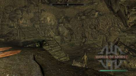 Reversusque mina para Skyrim quinta pantalla