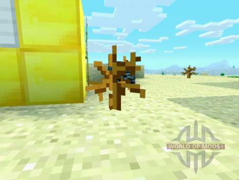 Sombreado inusual cambio de tiempo para Minecraft