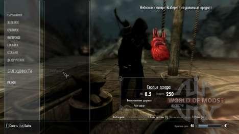 Kraft corazones Daedra para Skyrim