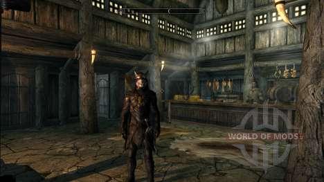 Abrir los ojos al Ruiseñor de la reserva para Skyrim segunda pantalla