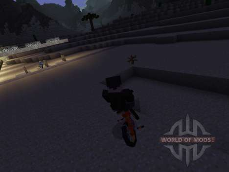 PokeCycle Mod - motos para Minecraft