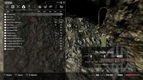 Mejorada amuleto de Gauldur para Skyrim