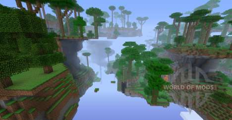 Better World Generation para Minecraft