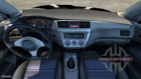 Mitsubishi Lancer Evolution VIII 2003 para BeamNG Drive