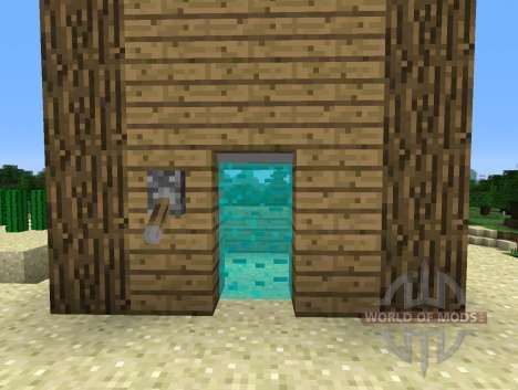 Luz Puentes Mod - longitud de puertas para Minecraft