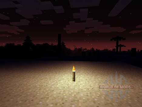 Avanzada la Oscuridad - la oscuridad de la noche para Minecraft