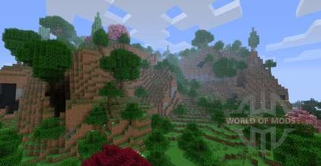 ExtraBiomesXL para Minecraft