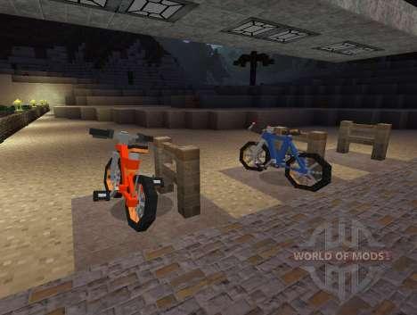 PokeCycle Mod - motos para Minecraft