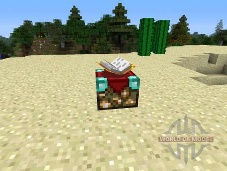 UnchantmentTable - tabla para la retirada de enc para Minecraft