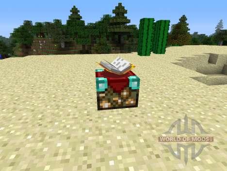 UnchantmentTable - tabla para la retirada de encantamiento para Minecraft