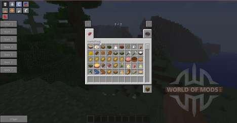 Comida sana para Minecraft