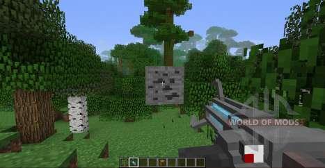 Pistola de gravedad para Minecraft