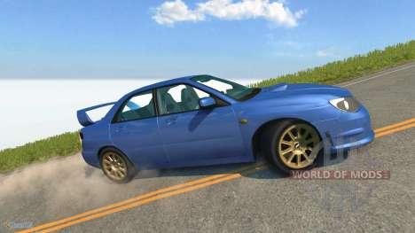 Subaru Impreza WRX STI para BeamNG Drive