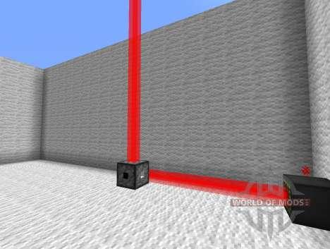 Láser Mod-lasers para Minecraft