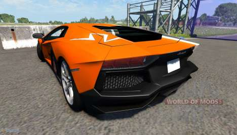 Lamborghini Aventador para BeamNG Drive