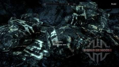 Más notable de mineral de para Skyrim segunda pantalla