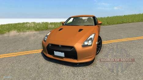 Nissan GT-R para BeamNG Drive