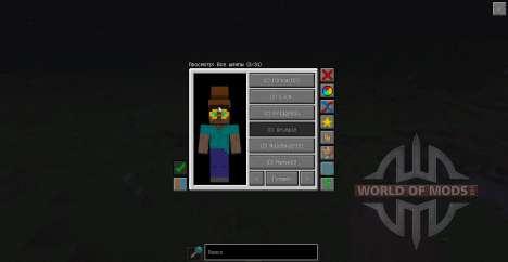 Sombreros para Minecraft
