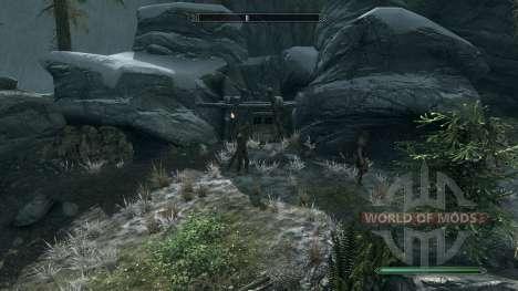 Reversusque mina para Skyrim segunda pantalla