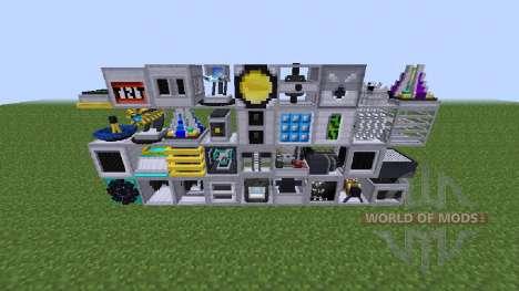 RotaryCraft-una nueva palabra en física para Minecraft