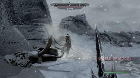 Marcadores para la misión con las máscaras de lo para Skyrim segunda pantalla