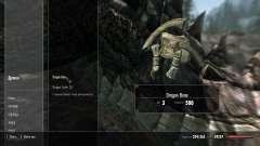 Peso pérdida drakonih huesos para Skyrim