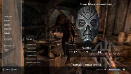 Kraft dragón de las máscaras de los sacerdotes para Skyrim