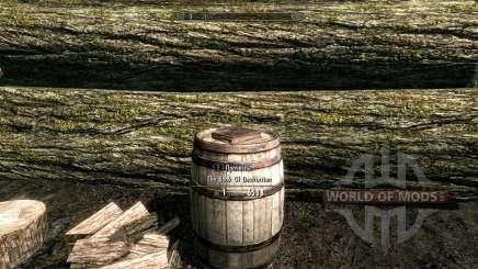 El libro de bombeo de la magia de la destrucción para Skyrim