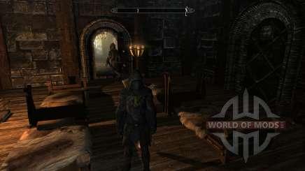 Encantador solovinoj armadura superior para Skyrim