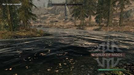 Aguas pura-mod, que mejora el agua para Skyrim