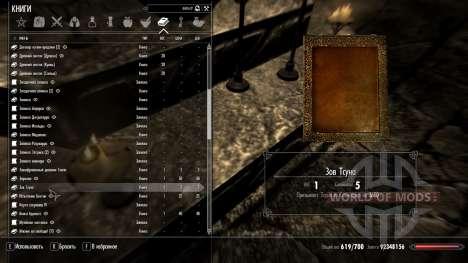 Llame A Tsuna para Skyrim segunda pantalla