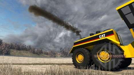 Caterpillar 24H Grader para BeamNG Drive
