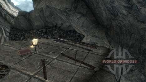 No se maravilló artefactos para Skyrim