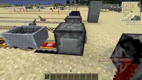 Reciclado Kraft rieles para Minecraft