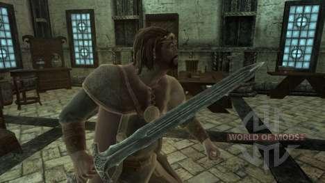 Alto rey de la Torá para Skyrim segunda pantalla