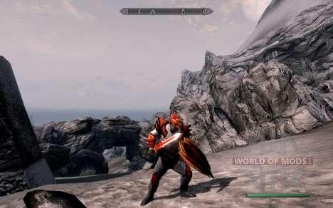 Las armas y armaduras de dragón Caballero de dot para el tercer Skyrim pantalla