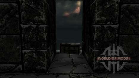 El conjunto de armadura de duvakina para Skyrim segunda pantalla