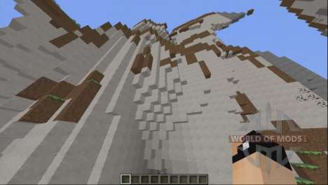 Superior de los biomas para Minecraft