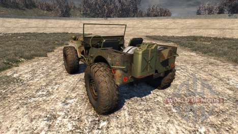 Hell Jeep para BeamNG Drive
