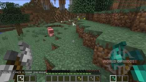 Nuevo sistema de combate para Minecraft