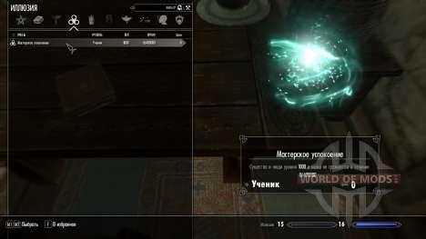 Magistral consuelo para Skyrim