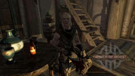 Satélite de Nieve elf para Skyrim