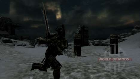 Angrar Asesino De Dragones para Skyrim segunda pantalla