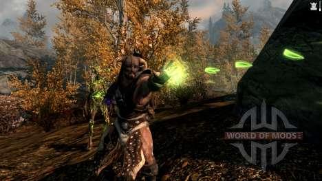 La magia de spriggan para Skyrim septima pantalla