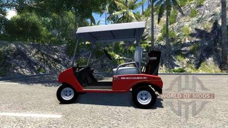 Carrito de Golf para BeamNG Drive